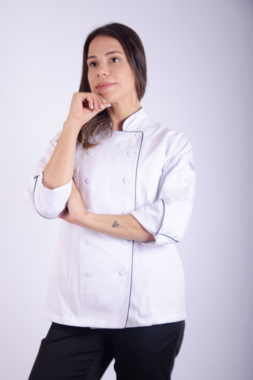 CHAQUETA CHEF MAYLEN BLANCA MUJER
