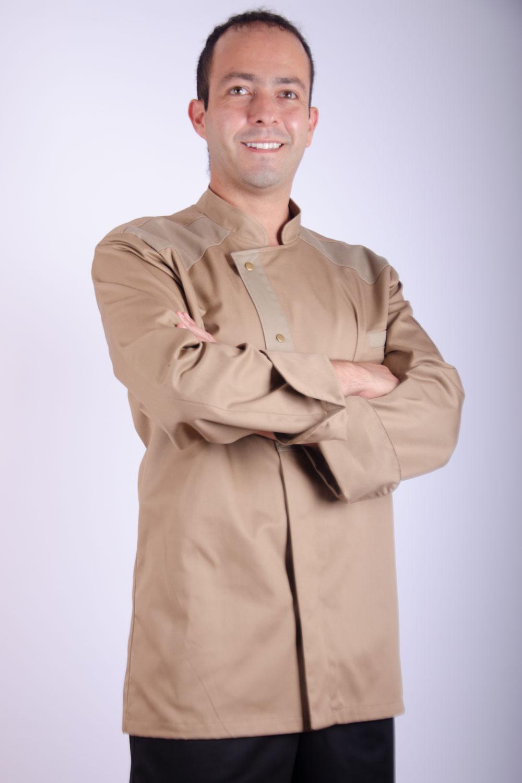 CHAQUETA CHEF NAHUELPAN BEIGE HOMBRE